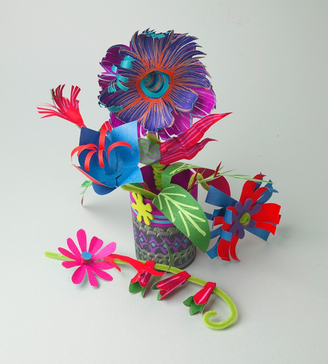 Absolutely Awesome Floral Bouquet craft