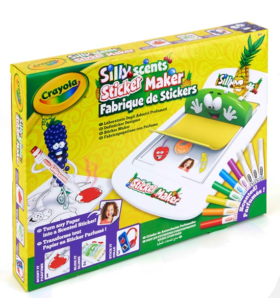 Crayola Silly Scents Sticker Maker maak je eigen geurstickers