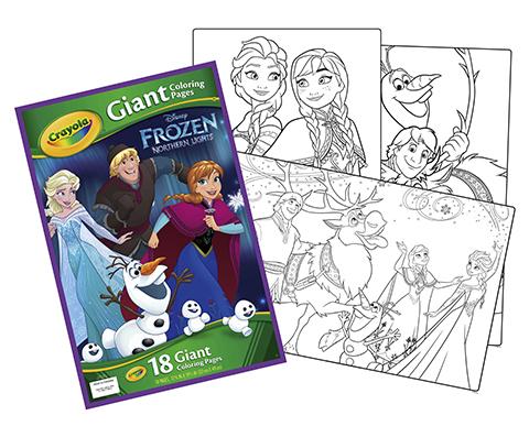 Kleurplaten Disney Frozen Elsa.Crayola Reuze Kleurplaten Paw Patrol Cars Frozen Princess Crayola Nl